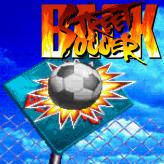 back street soccer game