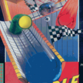 retro marble madness game