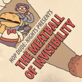 hop dude nights: the meatball of invisibility game