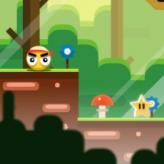 yellow ball adventure game