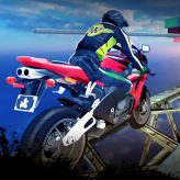 impossible bike stunt 3d game