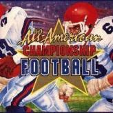 all-american championship football game