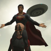 the superman: theme is aliens game