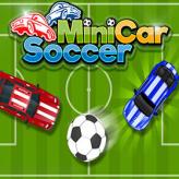 mini cars soccer game