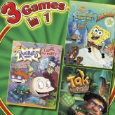 3 in 1: rugrats, spongebob, tak game