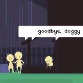 goodbye, doggy game
