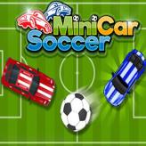 minicars soccer game