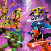 tmnt vs power rangers: ultimate hero clash 2 game