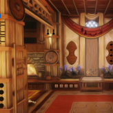 forest wooden house escape game