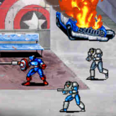 captain america and the avengers classic game