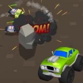 crazy racing pursuit game