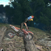 bike trial xtreme forest game