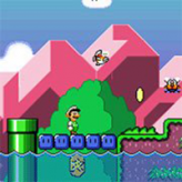smw the princess rescue 2: luigi's journey! game