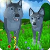 wolf simulator: wild animals 3d game