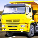 russian kamaz truck driver game