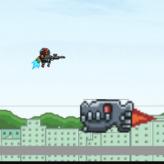 techno adventure game