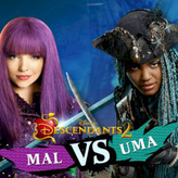 mal vs uma: descendants 2 game