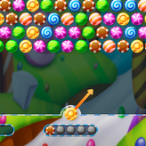 bubble shooter candy game