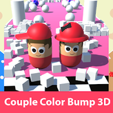 color couple bump 3d game