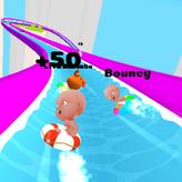 slippery water slides game
