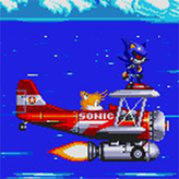 metal sonic in sonic 3 & knuckles game