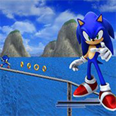 sonic 06 2d game