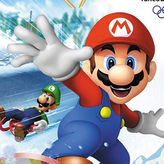 mario & sonic at the olympic winter games game