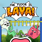 the floor is lava: apple & onion game