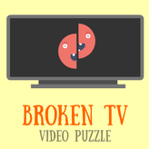 broken tv: video puzzle game