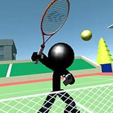 stickman tennis 3d game