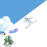 yetisports: snowboard freeride game