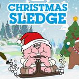 christmas sledge game