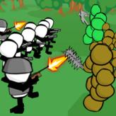 stickman gun battle simulator game