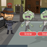 typing zombie shooter game