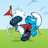 smurfs penalty shoot-out game