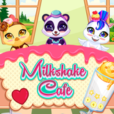 milkshake cafe game