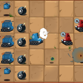 tiny blues vs mini reds game