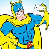 bananaman: food fighter game