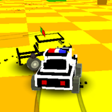 blocky demolition derby game