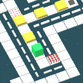 cube flip: grid puzzles game