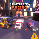 2 player city racing game