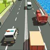 blocky traffic racing game