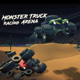 monster truck racing arena game
