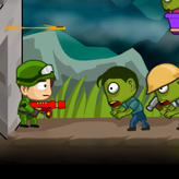 zombie parade defense game