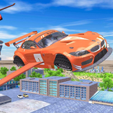 flying car extreme simulator game