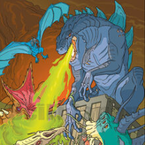 godzilla: the series - monster wars game