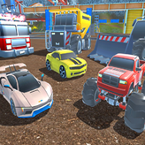 mad cars: racing & crash game