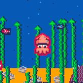 squid! escape! fight! game