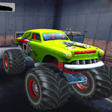monster truck extreme racing game