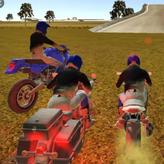 crazy moto stunts game